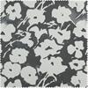 Van Gogh Grey Printed Cotton Twill Swatch