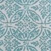 Catalina Aqua Printed Cotton Twill Fabric
