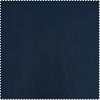 Navy Blue Faux Silk Taffeta Fabric