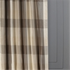Sutton Faux Silk Plaid Curtain