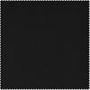 Signature Warm Black Velvet Fabric