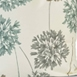 Allium Blue Gray Printed Cotton Fabric