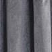 Signature Natural Grey Blackout Velvet Fabric
